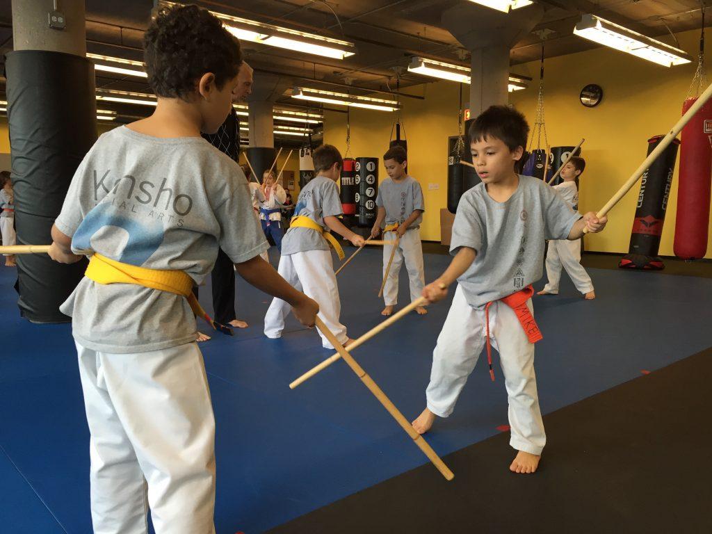Kids Kali Weapon Training