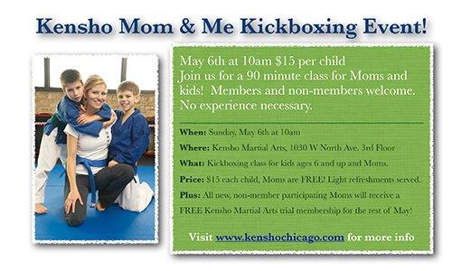 Kensho Mom & Me Kickboxing Event